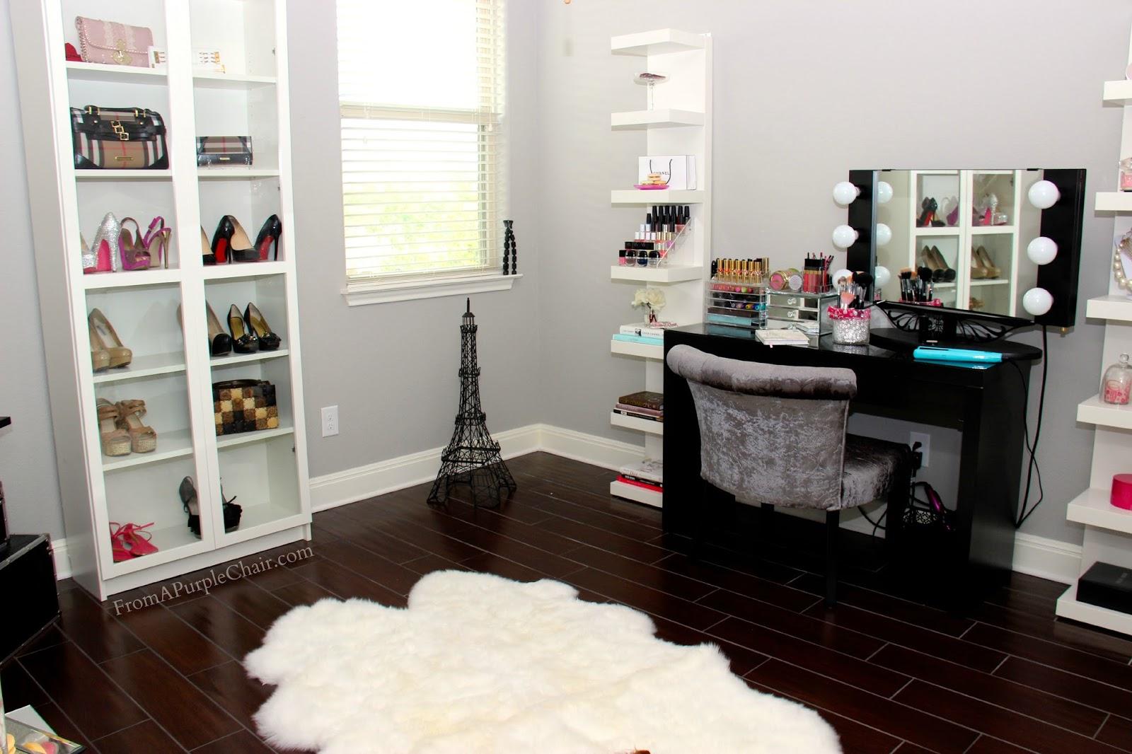 Makeup Room Beauty Room Set Up Before Miss Liz Heart