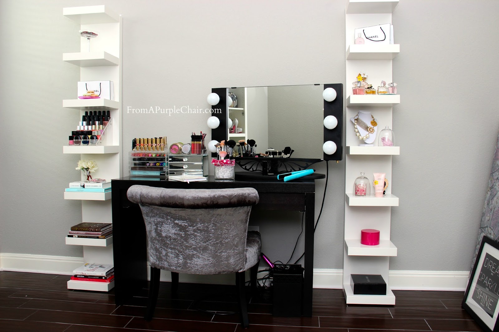 Makeup Room/Beauty Room Set Up (Before) - Miss Liz Heart on Makeup Room  id=11215