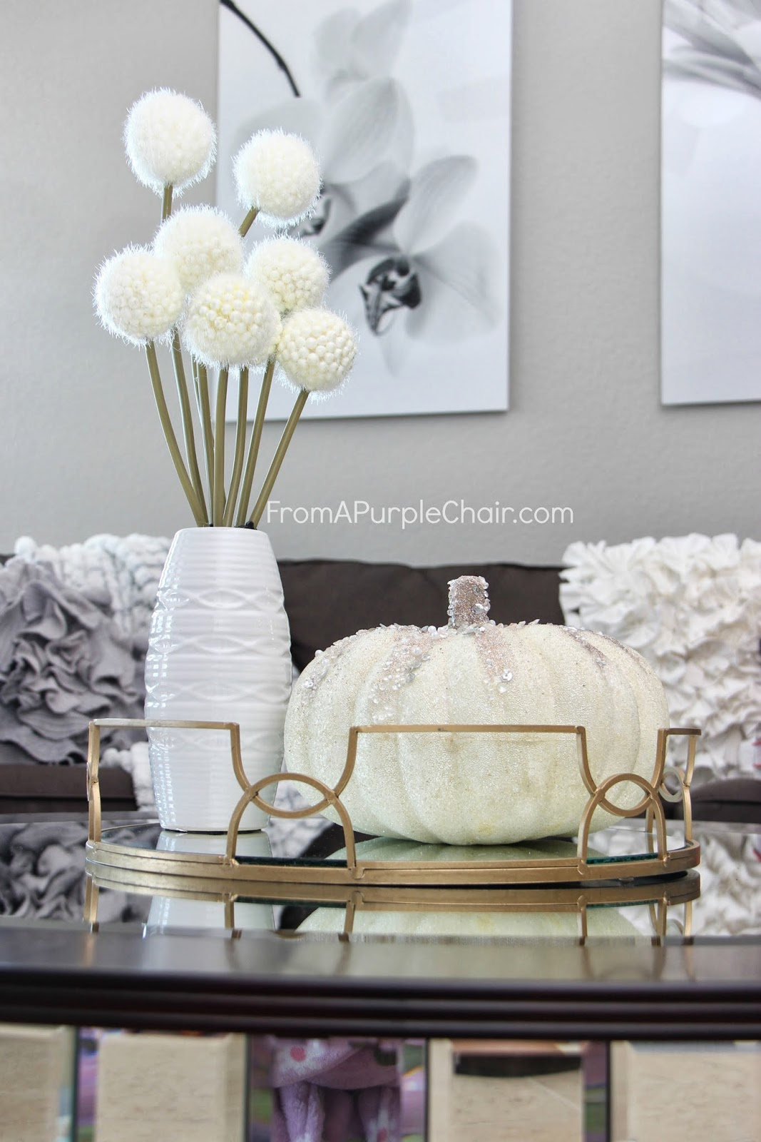 Fall Decor - Coffee Table Styling - Miss Liz Heart