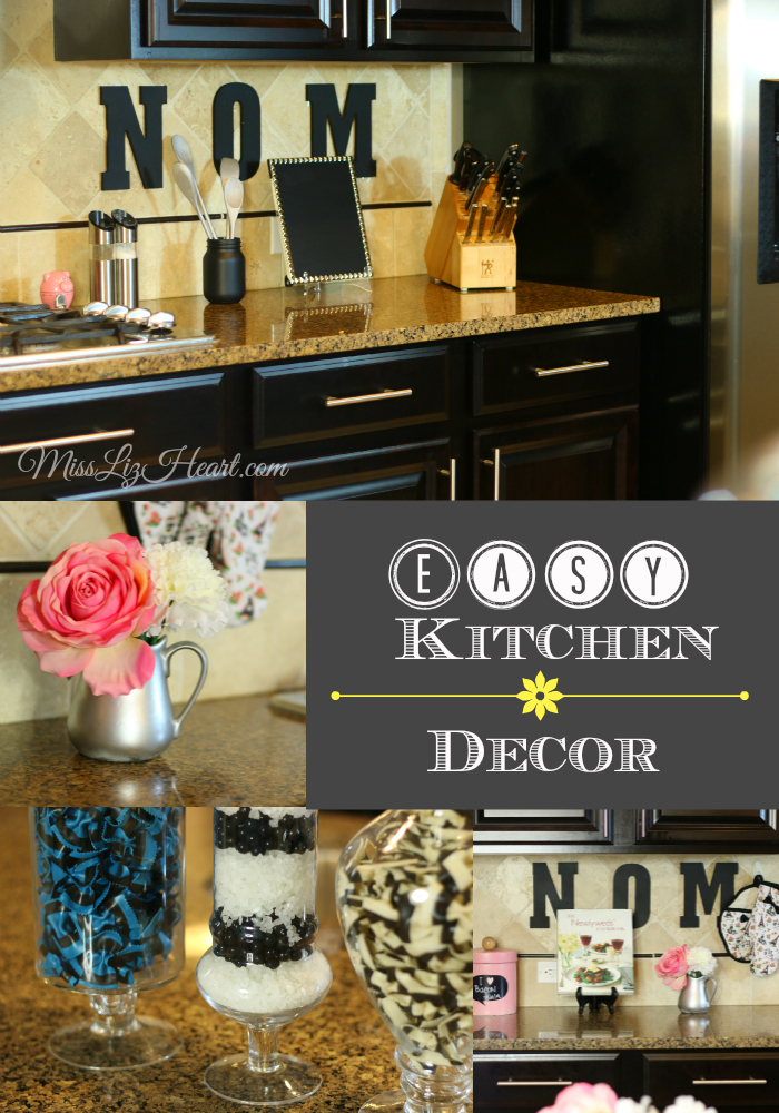 easy ways to decorate your kitchen video miss liz heart