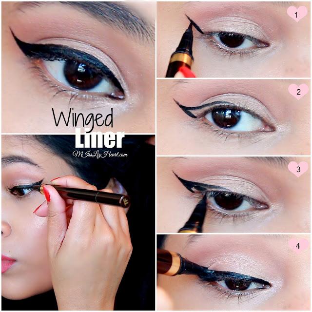 Winged Eyeliner Tutorial For Hooded Eyes + Video