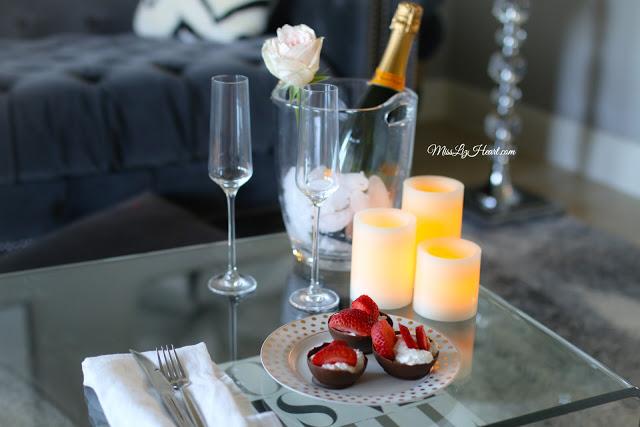 romantic dinner at home chicken cordon bleu miss liz heart